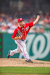 9 June 2013: Washington Nationals pitcher Ian Krol on the mound against the Minnesota Twins at Nationals Park in Washington, DC. The Nationals shut out the Twins 7-0 in the first game of their day/night double-header. Mandatory Credit: Ed Wolfstein Photo *** RAW (NEF) Image File Available ***