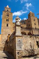 Cathedral, Duomo of Cefalu [Cefaú] Sicily