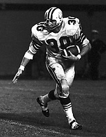 Bruce Van Ness Montreal Alouettes 1971. Photo Ted Grant