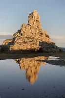Isola di Pianosa. Pianosa Island. Il Marzocco.La costa...