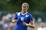 19 August 2016: Duke's Lizzy Raben. The Duke University Blue Devils played the Wofford College Terriers in a 2016 NCAA Division I Women's Soccer match. Duke won the game 9-1.