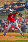 7 March 2013: Washington Nationals pitcher Ryan Mattheus on the mound during a Spring Training game against the Houston Astros at Osceola County Stadium in Kissimmee, Florida. The Astros defeated the Nationals 4-2 in Grapefruit League play. Mandatory Credit: Ed Wolfstein Photo *** RAW (NEF) Image File Available ***