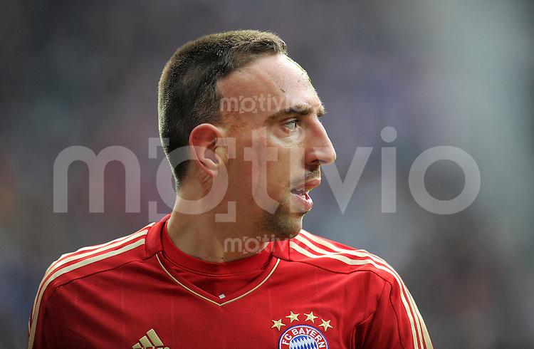 FUSSBALL   1. BUNDESLIGA  SAISON 2011/2012   23. Spieltag FC Bayern Muenchen - FC Schalke 04       26.02.2012 Franck Ribery (FC Bayern Muenchen)