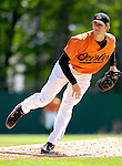 21 May 2007: Baltimore Orioles pitcher Brandon Erbe in action against the Toronto Blue Jays at Doubleday Field during Baseball's Annual Hall of Fame Game in Cooperstown, NY. The Orioles defeated the Blue Jays 13-7 in front of a sellout crowd of 9,791 at the historical ballpark...Mandatory Credit: Ed Wolfstein Photo