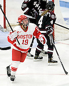 Jenelle Kohanchuk (BU - 19) - The Boston University Terriers defeated the visiting Union College Dutchwomen 6-2 on Saturday, December 13, 2012, at Walter Brown Arena in Boston, Massachusetts.