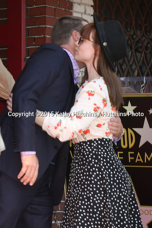 LOS ANGELES - MAR 5:  Chris O'Donnell, Renee Felice Smith at the Chris O'Donnell Hollywood Walk of Fame Star Ceremony at the Hollywood Blvd on March 5, 2015 in Los Angeles, CA