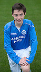 St Johnstone FC Academy U15's<br /> Cameron Thomson<br /> Picture by Graeme Hart.<br /> Copyright Perthshire Picture Agency<br /> Tel: 01738 623350  Mobile: 07990 594431