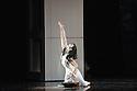 London, UK. 19.09.2012. San Francisco Ballet presents Program C, a mixed bill of four pieces, at Sadler's Wells. This piece is:  Raku, by Yuri Possokhov. Picture shows: Yuan Yuan Tan. Photo credit: Jane Hobson