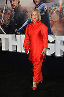 Costume designer Mayes C. Rubeo at the premiere for &quot;The Great Wall&quot; at the TCL Chinese Theatre, Hollywood, Los Angeles, USA 15 February  2017<br /> Picture: Paul Smith/Featureflash/SilverHub 0208 004 5359 sales@silverhubmedia.com