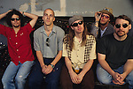 Blind Melon pose for a portrait session.