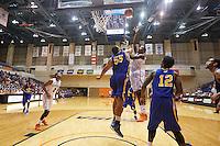 SAN ANTONIO, TX - NOVEMBER 5, 2015: The University of Texas at San Antonio Roadrunners defeat the Southeastern Oklahoma State University Savage Storm 92-81 at the UTSA Convocation Center. (Photo by Jeff Huehn)