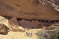 Long House on Wetherhill Mesa, Mesa Verde National Park, Colorado, U.S.A.
