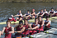006 ELI.8+ Oxford Brookes Univ B..Reading University Boat Club Head of the River 2012. Eights only. 4.6Km downstream on the Thames form Dreadnaught Reach and Pipers Island, Reading. Saturday 25 February 2012.