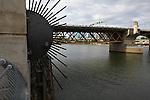 Burnside Bridge. Portland, Ore. July 9, 2016.