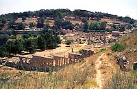 Libya   Cyrene.Archaeological site, Apollo sanctuary,  .City founded by the Greek 3rd century BC.UNESCO World Heritage Site......