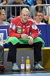 GER - Mannheim, Germany, September 23: During the DKB Handball Bundesliga match between Rhein-Neckar Loewen (yellow) and TVB 1898 Stuttgart (white) on September 23, 2015 at SAP Arena in Mannheim, Germany. Final score 31-20 (19-8) .  Mikael Alf Appelgren #1 of Rhein-Neckar Loewen<br /> <br /> Foto &copy; PIX-Sportfotos *** Foto ist honorarpflichtig! *** Auf Anfrage in hoeherer Qualitaet/Aufloesung. Belegexemplar erbeten. Veroeffentlichung ausschliesslich fuer journalistisch-publizistische Zwecke. For editorial use only.