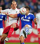 Fussball Bundesliga 2010/11, 22. Spieltag: FC Schalke 04 - SC Freiburg