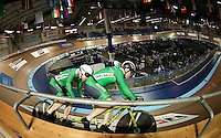 Picture by Alex Whitehead/SWpix.com - 05/03/2017 - Cycling - UCI Para-cycling Track World Championships - Velo Sports Center, Los Angeles, USA - Ireland in action during the Men's Sprint qualification.
