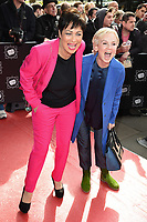 Denise Welch &amp; Lisa Maxwell at the TRIC Awards 2017 at the Grosvenor House Hotel, Mayfair, London, UK. <br /> 14 March  2017<br /> Picture: Steve Vas/Featureflash/SilverHub 0208 004 5359 sales@silverhubmedia.com