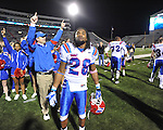 Ole Miss vs. Louisiana Tech's Terry Carter (28) in Oxford, Miss. on Saturday, November 12, 2011. Louisiana Tech won 27-7.
