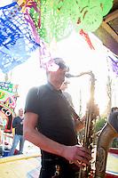 Xochimilco celebrating Anders 50th birthday, Mexico City, Mexico