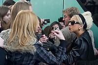 Lady Gaga visit Spain.December 2011 Exclusive. © Goyo Conde