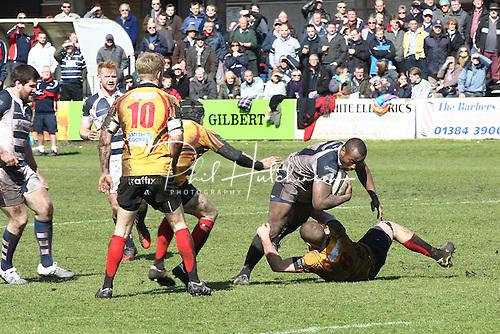 Rugby Union, SSE NL2N Rugby game, Stourbridge v Birmingham ...