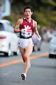 Akifumi Okushi (Waseda-Univ), JANUARY 2, 2012 - Athletics : The 88th Hakone Ekiden Race the 4th section in Kanagawa, Japan. (Photo by Jun Tsukida/AFLO SPORT)