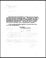 BNPS.co.uk (01202 558833)<br /> Pic: AlanAustin/BNPS<br /> <br /> A letter to Private Lionel Brown's sister informing her of his death.<br /> <br /> Three 'lost' British soldiers who were executed by the Nazis in a shocking war crime have been found 72 years later.<br /> <br /> The tragic trio - Private Lionel Brown, Pte Daniel Hollingsworth and Pte Thomas White - were murdered when they were being transported to a prisoner of war camp in Italy in 1944.<br /> <br /> The truck suddenly stopped by a bridge and the three prisoners and an Italian spy were shot by SS troops.<br /> <br /> They were later buried at the Ancona Military Cemetery in unmarked graves. Research has now identified the men's final resting place.