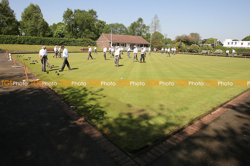 General view - Bowls at Brentwood BC, King George's Playing Field - Brentwood BC vs Liberty BC - 08/05/08 - MANDATORY CREDIT: Gavin Ellis/TGSPHOTO. Self-Billing applies where appropriate. NO UNPAID USE. Tel: 0845 094 6026