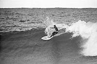Rod Brooks (AUS) competing in the 1979 Rip Curl Pro  at Bells Beach Torquay Victoria, Australia.Photo: joliphotos.com