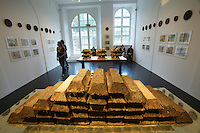 "dOCUMENTA (13) in Kassel, Germany..Ottoneum..Claire Pentecost. ""Soil-erg"", 2012."