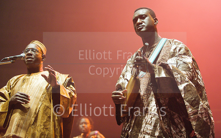 AfroCubism<br /> performing live at The Royal Albert Hall, London, Great Britain <br /> 27th June 2011<br /> <br /> <br /> Kasse Mady Diabat&eacute; <br /> Bassekou Kouyate<br /> <br /> Photograph by Elliott Franks