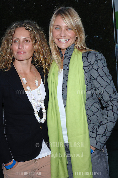 Actress CAMERON DIAZ (right) & friend ELIZABETH ROGERS at the 15th Annual Environmental Media Awards in Los Angeles..October 19, 2005 Los Angeles, CA..© 2005 Paul Smith / Featureflash