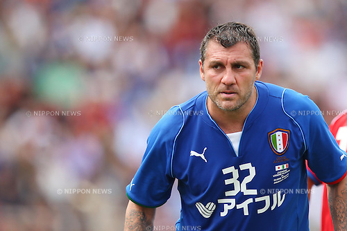 Christian Vieri (ITA), JUNE 9, 2013 - Football / Soccer : <br /> Japan-Italy Legend Match between J League Legend Players 2-2 Glorie AZZURRE<br /> at National Stadium, Tokyo, Japan. (Photo by AFLO SPORT) [1156]