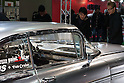 February 10, 2012, Osaka, Japan - Visitors look at a custom car at the Osaka Auto Messe car show. This annual car dress-up and tuning motor show is held from February 10-12. (Photo by Christopher Jue/AFLO)