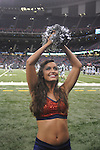 Ole Miss Rebelettes dance at the Louisiana Superdome in New Orleans, La. on Saturday, September 11, 2010. Ole Miss won 27-13.