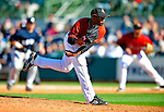 2 March 2009: Houston Astros' pitcher Wesley Wright on the mound during a Spring Training game against the New York Yankees at Osceola County Stadium in Kissimmee, Florida. The teams played to a 5-5, 9-inning tie. Mandatory Photo Credit: Ed Wolfstein Photo