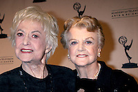 Bea Arthur & Angela Lansbury arriving at the Television Academy Hall of Fame Ceremony in Beverly Hills, CA .December 9, 2008.©2008 Kathy Hutchins / Hutchins Photo....                .