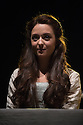 Edinburgh, UK. 05.08.2014.  THE JAMES PLAYS opens at the Festival Theatre as part of the Edinburgh International Festival Fringe. Written by Rona Munroe and directed by Laurie Sansom. Picture shows: Stephanie Hyam (Queen Joan) in JAMES I. Photograph © Jane Hobson.