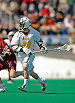 23 March 2008: University of Vermont Catamounts' Trevor Wagar, a Senior from Guelph, Ontario, in action against the Bellarmine University Knights at Moulton Winder Field, in Burlington, Vermont. The Catamounts defeated the visiting Knights 9-7 at the Vermont home opener...Mandatory Photo Credit: Ed Wolfstein Photo