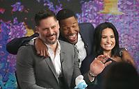 MAR 20 Joe Manganiello and Demi Lovato at Good Morning America