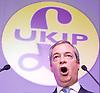 UKIP 2015 Spring Conference at the Winter Gardens Margate, Great Britain <br /> 28th February 2015 <br /> <br /> Nigel Farage MEP<br /> Leader of UKIP<br /> <br /> <br /> Photograph by Elliott Franks <br /> Image licensed to Elliott Franks Photography Services