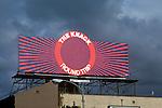 The Knack billboard on Sunset Strip circa 1981
