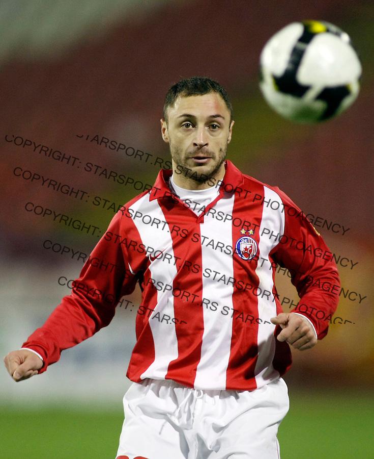Fudbal, Super liga, season 2008/09.Crvena Zvezda Vs. Hajduk (Kula).Marjan Markovic.Beograd, 12.10.2008..foto: Srdjan Stevanovic ©