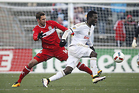 Bridgview, IL. - April 2, 2016: The Chicago Fire defeated the Philadelphia Union 1-0 in a MLS game at Toyota Park.