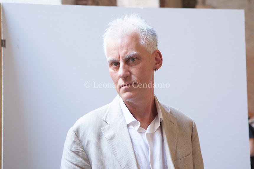 Fulvio Ervas, Italian writer, Cremona, giugno 2012. © Leonardo Cendamo