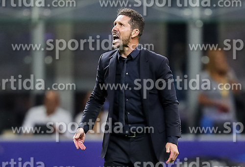 Diego Simeone, head coach of Atlético prior to the penalty shots at football match between Real Madrid (ESP) and Atlético de Madrid (ESP) in Final of UEFA Champions League 2016, on May 28, 2016 in San Siro Stadium, Milan, Italy. Photo by Vid Ponikvar / Sportida