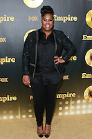 HOLLYWOOD, LOS ANGELES, CA, USA - JANUARY 06: Amber Riley at the Los Angeles Premiere Of FOX's 'Empire' held at ArcLight Cinemas Cinerama Dome on January 6, 2015 in Hollywood, Los Angeles, California, United States. (Photo by David Acosta/Celebrity Monitor)