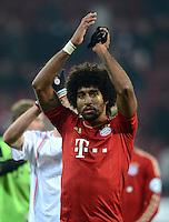 FUSSBALL  DFB-POKAL  ACHTELFINALE  SAISON 2012/2013    FC Augsburg - FC Bayern Muenchen        18.12.2012 Dante (FC Bayern Muenchen)